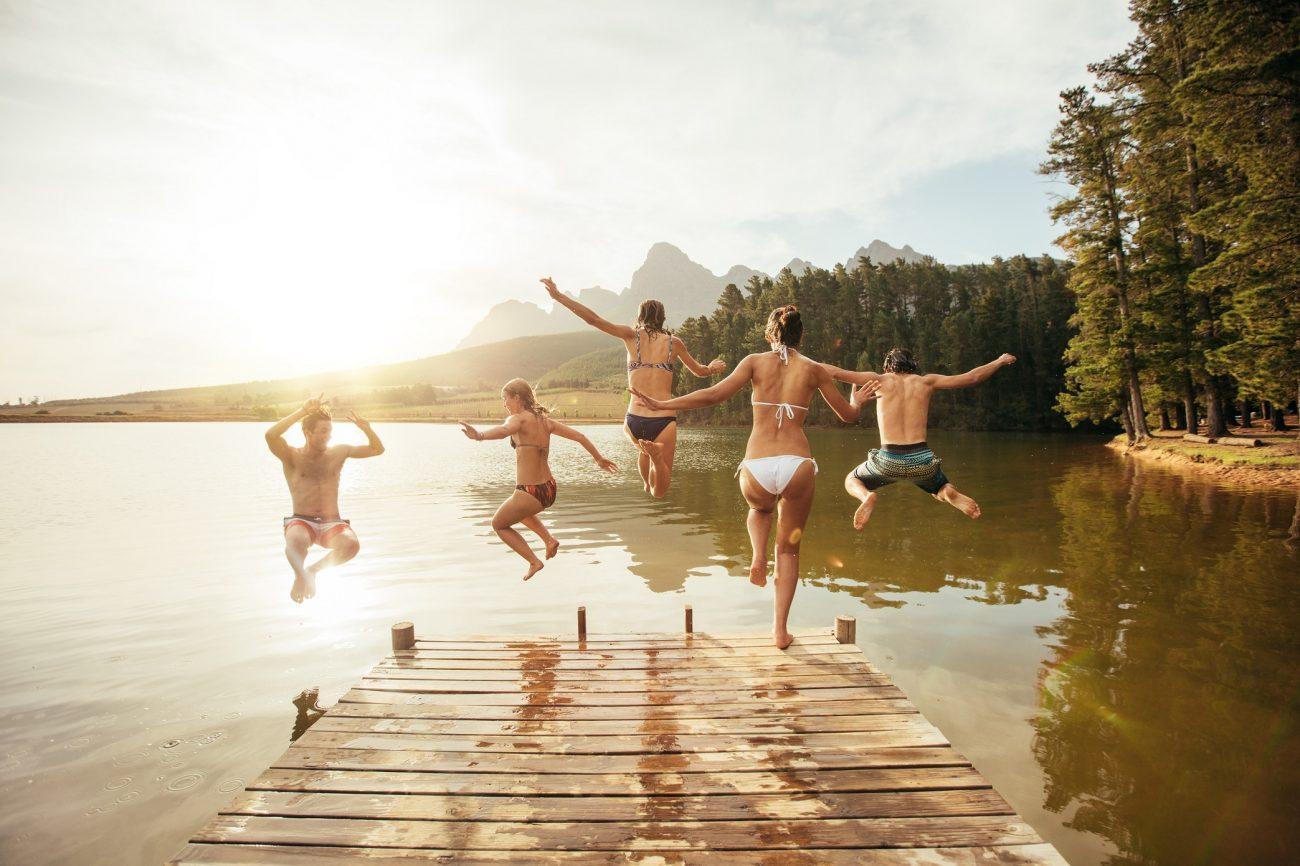 La joie de partir en vacances entre amis