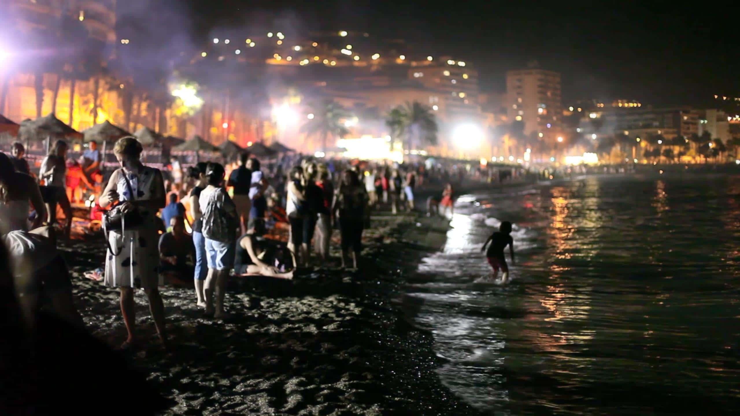 La noche de San Juan en Espagne