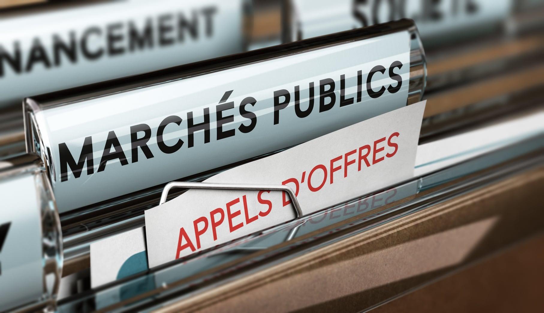 Dossiers pour les marchés publics
