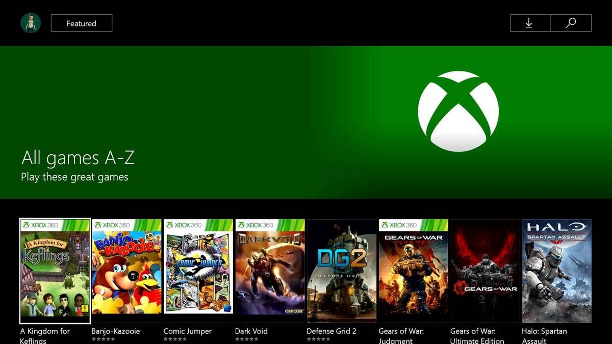L'interface du cloud Xbox en développement par Microsoft