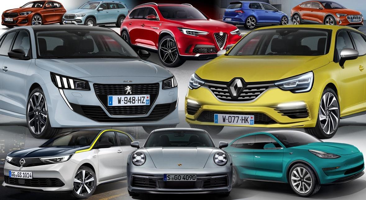 Les nouvelles voitures tendances de 2019